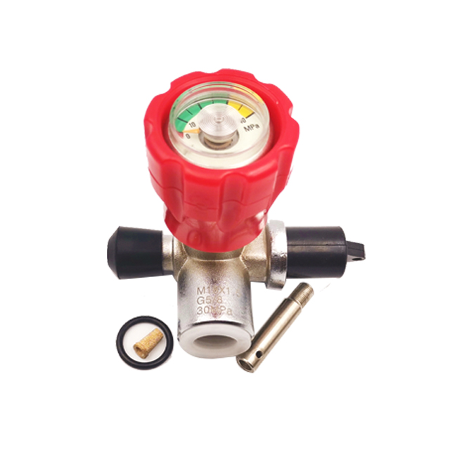 M18x15 30mp Stainless Steel Airgun Valves Regulator Pcp Pin For Paintball Featured Image