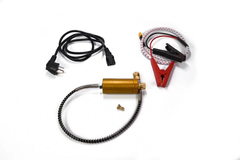 Portable 12 Volt Pcp Compressor With 220v/110v Transformer