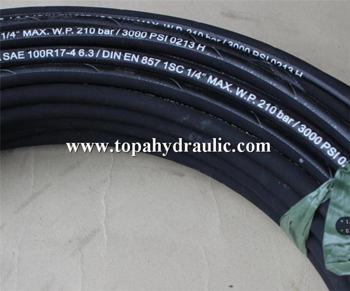 welding composite rubber pressure clear hydraulic hose