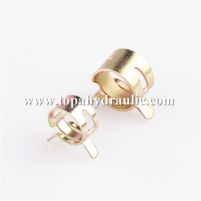 metal circular wide spring hose clamps