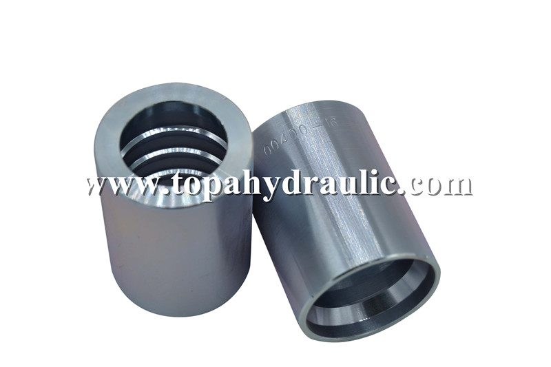 Fully stocked nickle plating ferrule for hose