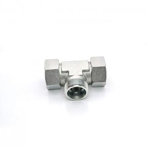 ED high pressure stainless steel vacuum equal fitting tee pipe fittings