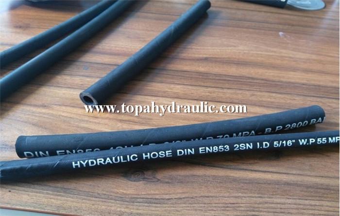 Fuel line high pressure rubber hydraulic hose press