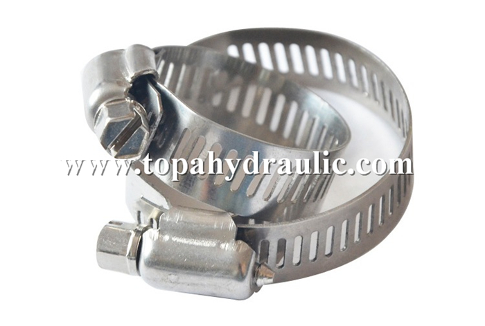 tension parallel stainless steel hose clamp