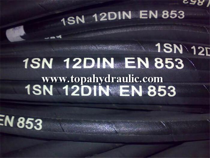 High pressure air water hydraulic fleaible pump hose