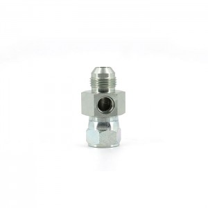 6564 Hydraulic Male JIC SS female Swivel straight fittings Testpoint Adapter