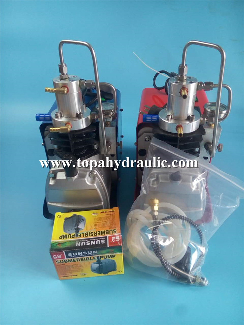 Pcp outdoors hunting micro air compressor