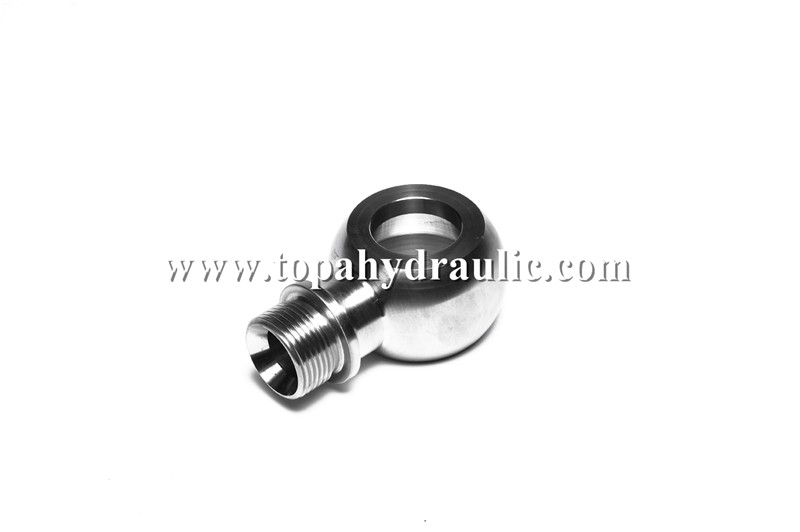 Parker carbon steel industrial banjo fittings