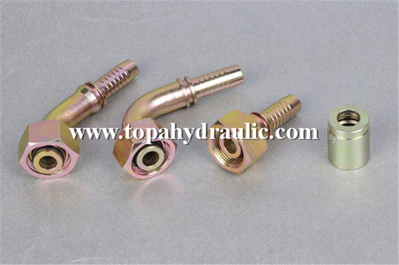 metric brass fittings hydraulic hose fittings types