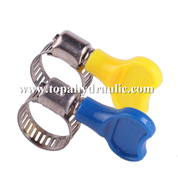 Quick release silicone hose 4 inch hose clamp