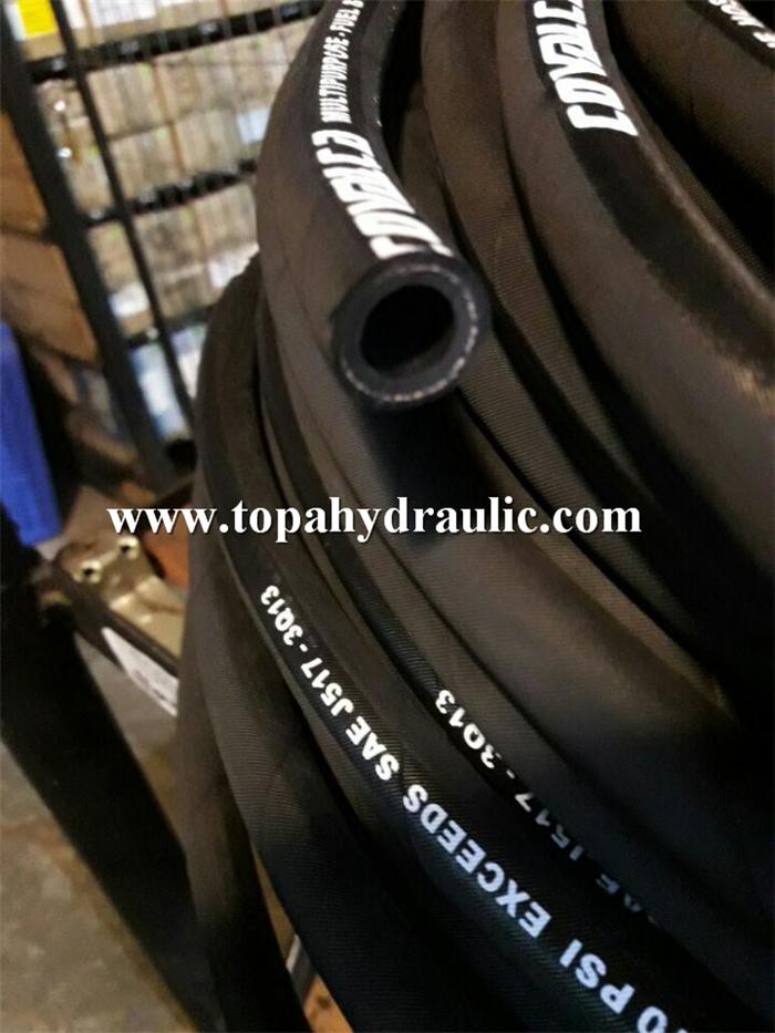 Parker 3 inch rubber excavator hydraulic flexible hose