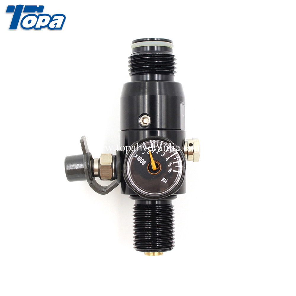 Reasonable price Pcp Airgun Tankpcp Cylinder 200 Bar - Paintball co2 tank accessories compressed air tank regulator –  Topa