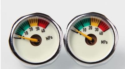 Luminous 300bar 25mm manometer for PCP compressor
