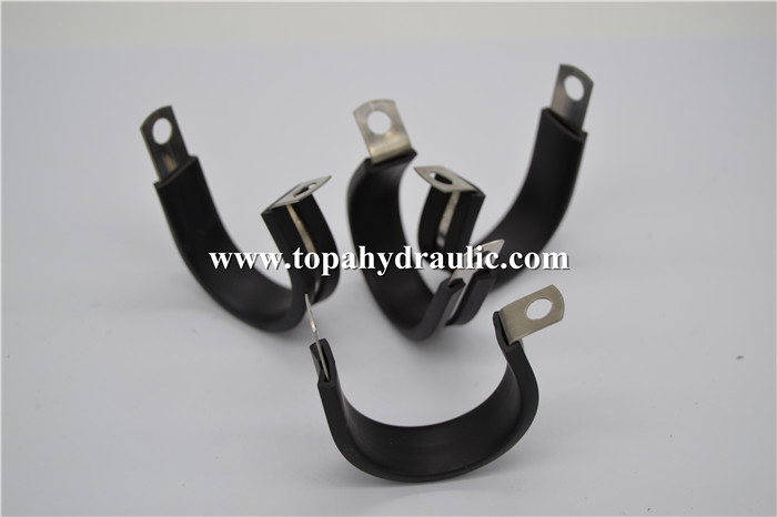 Hose hydraulic super aluminum rubber pipe clamp Featured Image