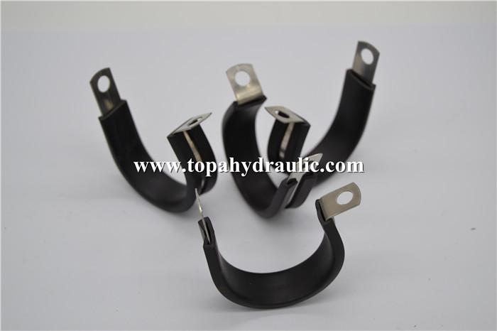 Hose hydraulic super aluminum rubber pipe clamp