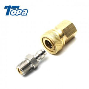 8mm paintball refill adapter mini coupler pcp apdaptor fitting