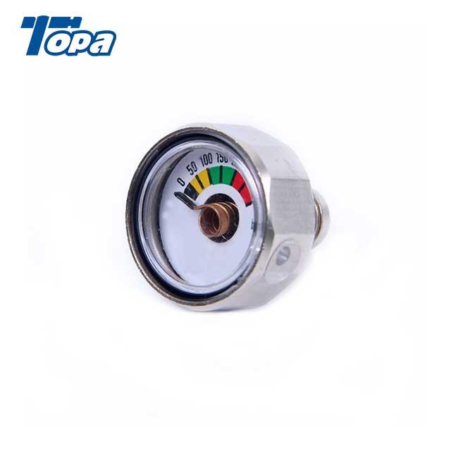 mercury pressure gauge