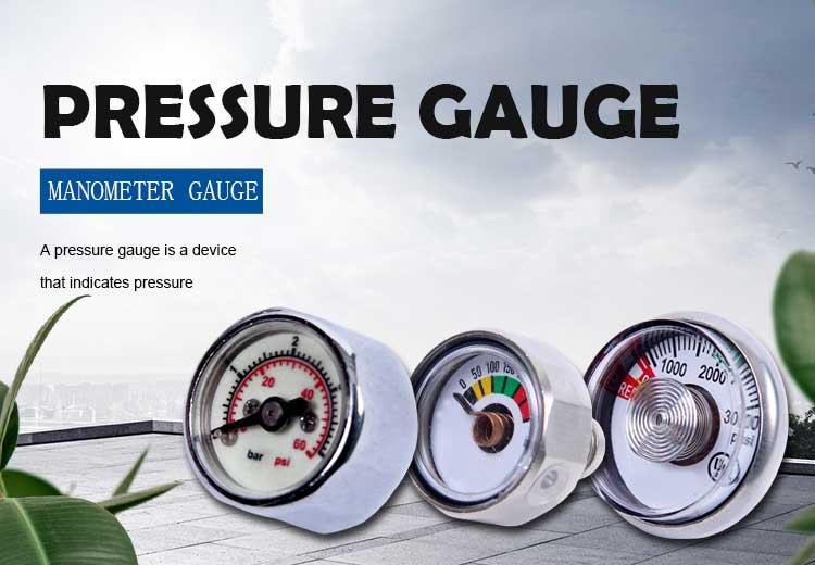 mini scuba diving pressure gauge