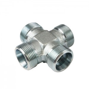 XC XD  Ways Connector Tube Forged Pipe Fitting Cross