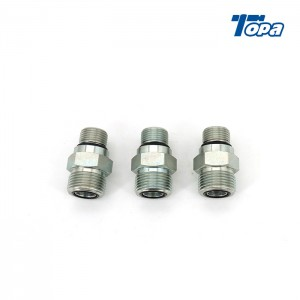 FS6400 multiple flatface quick coupling orfs adapters hydraulic fittings