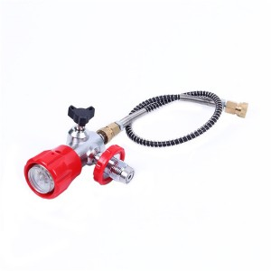 Paintball Hpa Pcp Scuba Tank Valve Gas Fill Station