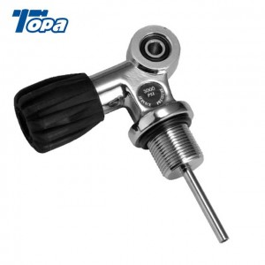 High Pressure Tank Stainless Steel diving tank pin valve