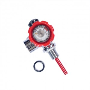Tank Stainless Steel diving High Pressure pcp air gun tank valve
