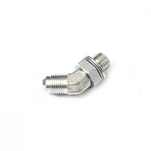 1JG4-OG Flexible Male Jic To Bspp Male 1 Inch Mounting Press Ss316 Hose Fittings