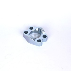 Iso 6162-2-sae J518 Black Metal Carbon Steel Whole Flange Clamps